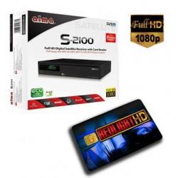 REDLIGHT HD + RECEPTOR FULL HD 12 CANALES 1 año