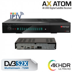 Opticum AX ATOM 4K DVB-S2X