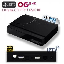 Qviart OGs IPTV + Satelite 4K