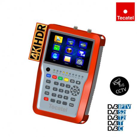 Medidor HD 265 4K Tecatel M-TD24K
