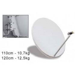 Antena parabólica 120 cm + LNB
