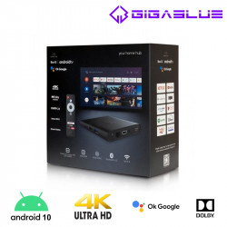 GigaBlue x Botech WZONE 4K ANDROID 10 TV Box