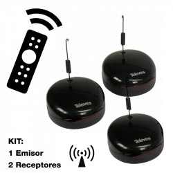 Transmisor inalámbrico Televés Digidom de mando a distancia Infrarrojos