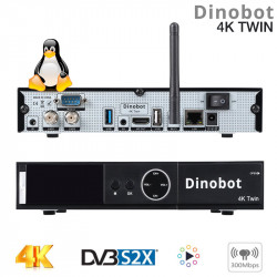 Dinobot 4K Twin