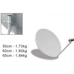 Antena parabólica offset 60 cm Caja individual + LNB