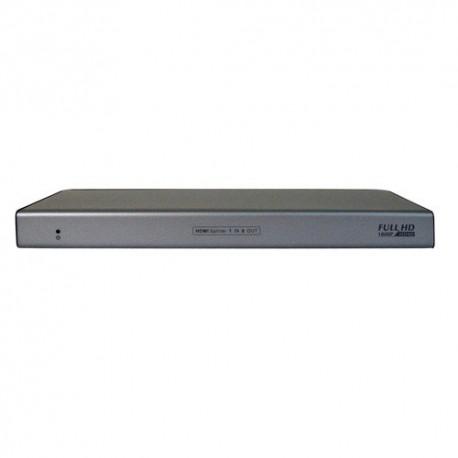 DISTRIBUIDOR HDMI 1 ENTRADA - 8 SALIDAS