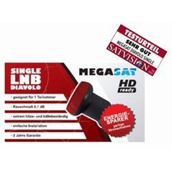 LNB Megasat Diavolo LNB 0,1dB HDTV