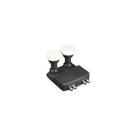 LNB Universal INVERTO MONOBLOCK QUAD 0,1 dB offset 4 salidas