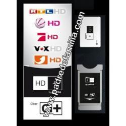 Plataforma HD+ ASTRA (PCmcia CI+ y Tarjeta)