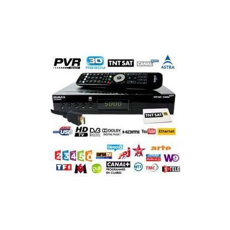 TDT FRANCIA - Tarjeta + Receptor HD con PVR HUMAX TN5000