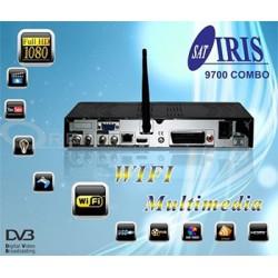 Iris 9700 COMBO SAT+T2 WIFI IKS