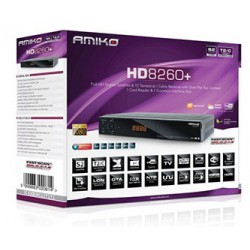 AMIKO HD 8260+ COMBO SAT+TDT+CABLE Android Streaming
