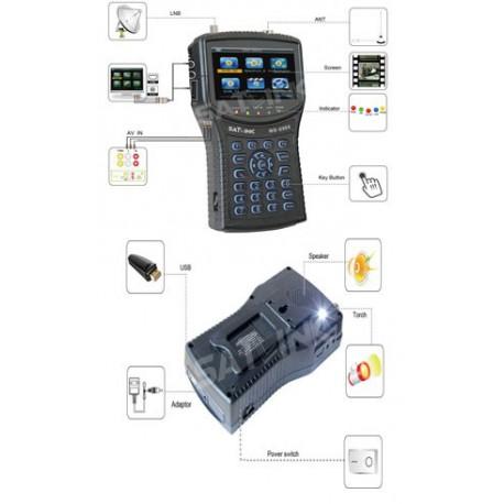 SATLINK WS-6960 PLUS DVB-S&DVB-S2 HD