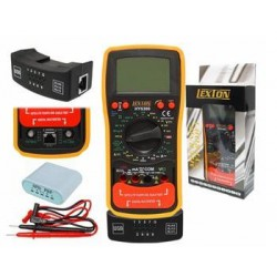 Lexton HY 5300 - Multimetro, SAT finder, RJ45 test