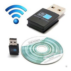 Wireless USB Adapter 300 Mbps compatible VU+
