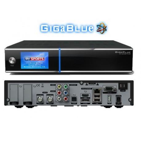 GiGaBlue HD QUAD PLUS hybrid HDTV Linux