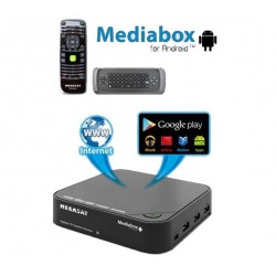 Megasat Mediabox SAT HD + Android