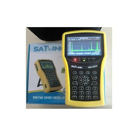 SATLINK WS 6936 SD MPEG-2 DVB-S & DVB-T COMBO