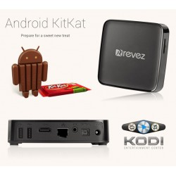 Revez Qdroid SE Android Smart TV Box KODI