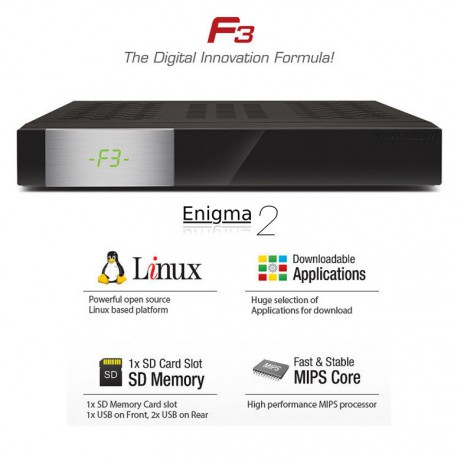Formuler F3 Linux Enigma2
