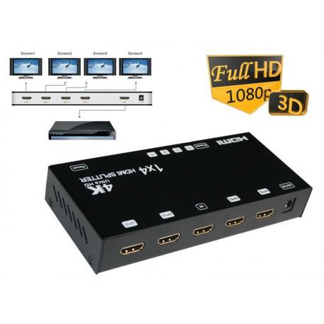 HDMI Splitter 1x4