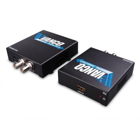 HDMI Extender sobre cable coaxial 100m