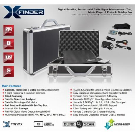 Amiko XFINDER TRIPLEX SAT+T+T2+C