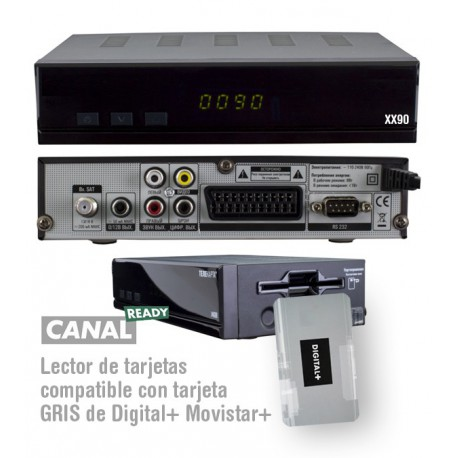 Receptor XX90 compatible Digital+ Movistar+