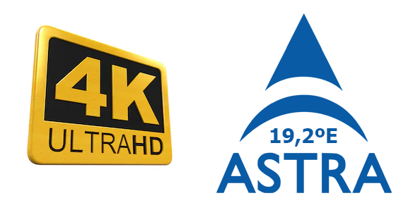 Canales Astra 4k UHD