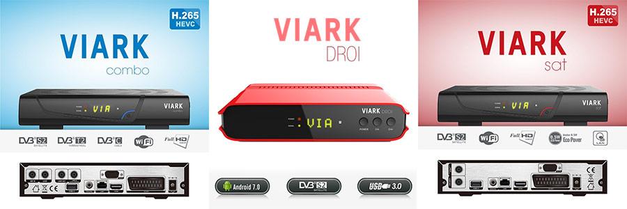 Viark Sat, Viark Combo, Viark Droi