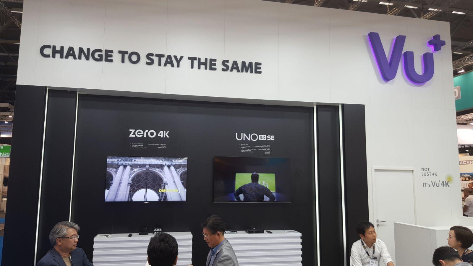 Novedades Stand Vu+: Vu+ Uno 4k se y Vu+ Zero 4k