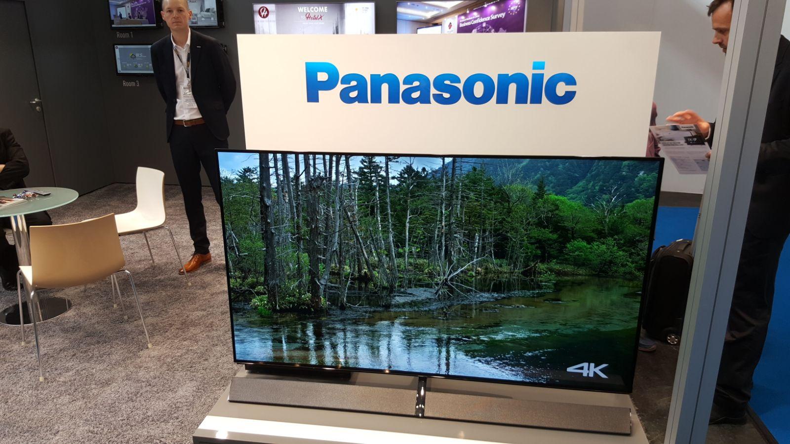 ANGA COM 2017 - Televisión Panasonic 4k